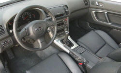 Wagon Models at TrueDelta: 2007 Subaru Legacy interior