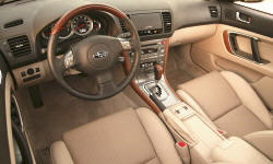 Wagon Models at TrueDelta: 2007 Subaru Outback interior