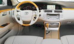 Toyota Models at TrueDelta: 2010 Toyota Avalon interior