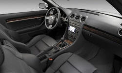 Convertible Models at TrueDelta: 2008 Audi A4 / S4 / RS4 interior