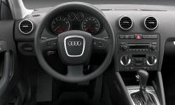 Hatch Models at TrueDelta: 2008 Audi A3 interior