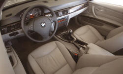Coupe Models at TrueDelta: 2011 BMW 3-Series interior