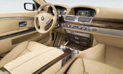 BMW Models at TrueDelta: 2008 BMW 7-Series interior