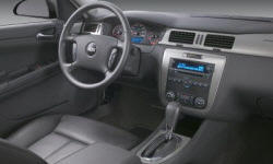 Coupe Models at TrueDelta: 2007 Chevrolet Impala / Monte Carlo interior