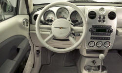 Convertible Models at TrueDelta: 2008 Chrysler PT Cruiser interior