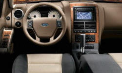 SUV Models at TrueDelta: 2010 Ford Explorer interior