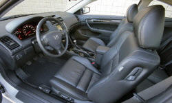 Coupe Models at TrueDelta: 2007 Honda Accord interior
