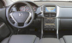 Honda Models at TrueDelta: 2008 Honda Pilot interior