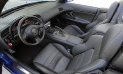 Convertible Models at TrueDelta: 2009 Honda S2000 interior