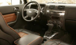SUV Models at TrueDelta: 2010 Hummer H3 interior