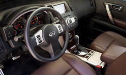 SUV Models at TrueDelta: 2008 Infiniti FX interior