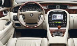 Jaguar Models at TrueDelta: 2007 Jaguar XJ interior