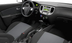 Hatch Models at TrueDelta: 2009 Kia Rio interior