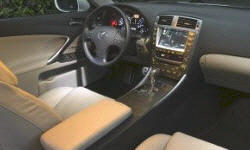 Lexus Models at TrueDelta: 2008 Lexus IS interior