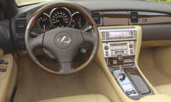Convertible Models at TrueDelta: 2010 Lexus SC interior