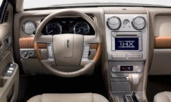 Lincoln Models at TrueDelta: 2006 Lincoln Zephyr interior