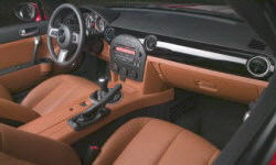 Convertible Models at TrueDelta: 2008 Mazda MX-5 Miata interior