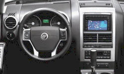 Mercury Models at TrueDelta: 2010 Mercury Mountaineer interior