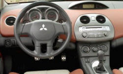 Convertible Models at TrueDelta: 2012 Mitsubishi Eclipse interior