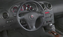 Convertible Models at TrueDelta: 2009 Pontiac G6 interior