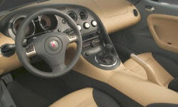 Convertible Models at TrueDelta: 2010 Pontiac Solstice interior