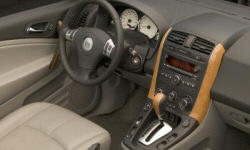SUV Models at TrueDelta: 2007 Saturn VUE interior
