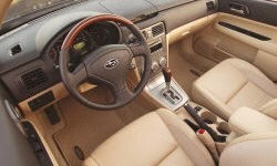 SUV Models at TrueDelta: 2008 Subaru Forester interior