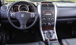 SUV Models at TrueDelta: 2008 Suzuki Grand Vitara interior