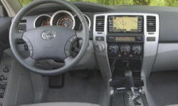 SUV Models at TrueDelta: 2009 Toyota 4Runner interior