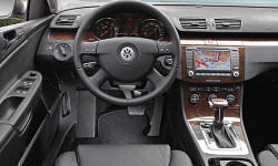 Wagon Models at TrueDelta: 2010 Volkswagen Passat interior