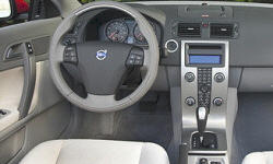 Convertible Models at TrueDelta: 2013 Volvo C70 interior
