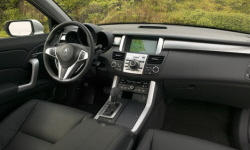 Acura Models at TrueDelta: 2009 Acura RDX interior