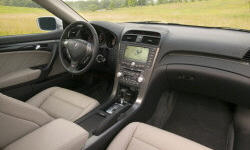 Acura Models at TrueDelta: 2008 Acura TL interior