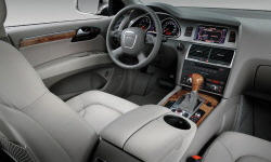 SUV Models at TrueDelta: 2009 Audi Q7 interior