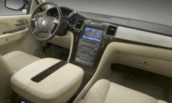 SUV Models at TrueDelta: 2014 Cadillac Escalade interior