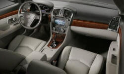 SUV Models at TrueDelta: 2009 Cadillac SRX interior