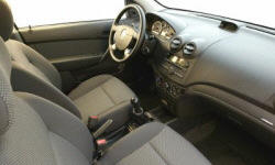 Hatch Models at TrueDelta: 2011 Chevrolet Aveo interior