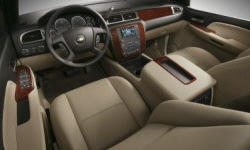 SUV Models at TrueDelta: 2014 Chevrolet Tahoe / Suburban interior