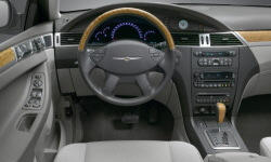 Chrysler Models at TrueDelta: 2008 Chrysler Pacifica interior
