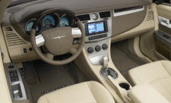 Convertible Models at TrueDelta: 2010 Chrysler Sebring interior