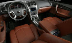 GMC Models at TrueDelta: 2012 GMC Acadia interior