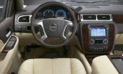 GMC Models at TrueDelta: 2014 GMC Yukon interior