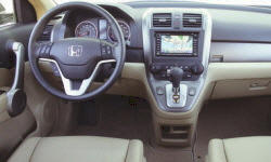 Honda Models at TrueDelta: 2009 Honda CR-V interior
