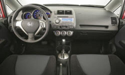 Hatch Models at TrueDelta: 2008 Honda Fit interior