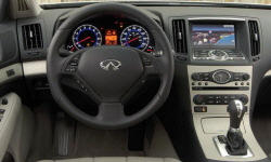 Coupe Models at TrueDelta: 2013 Infiniti G interior