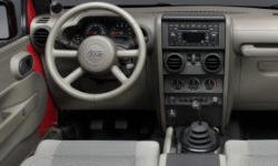 Jeep Models at TrueDelta: 2010 Jeep Wrangler interior