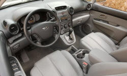 Wagon Models at TrueDelta: 2009 Kia Rondo interior