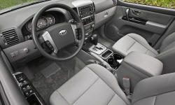 SUV Models at TrueDelta: 2009 Kia Sorento interior