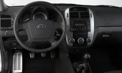 Hatch Models at TrueDelta: 2009 Kia Spectra interior