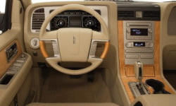 SUV Models at TrueDelta: 2014 Lincoln Navigator interior